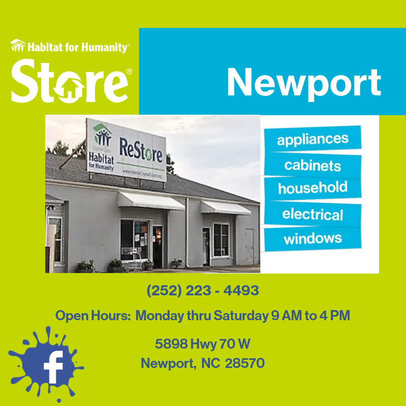 Newport ReStore Website FB